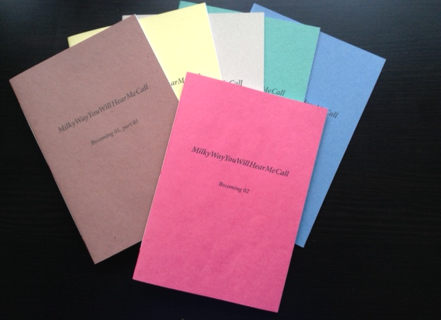 MilkyWayYouWillHearMeCall: Becoming pamphlets
