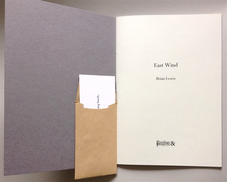 East Wind (2nd edition) by Brian Lewis